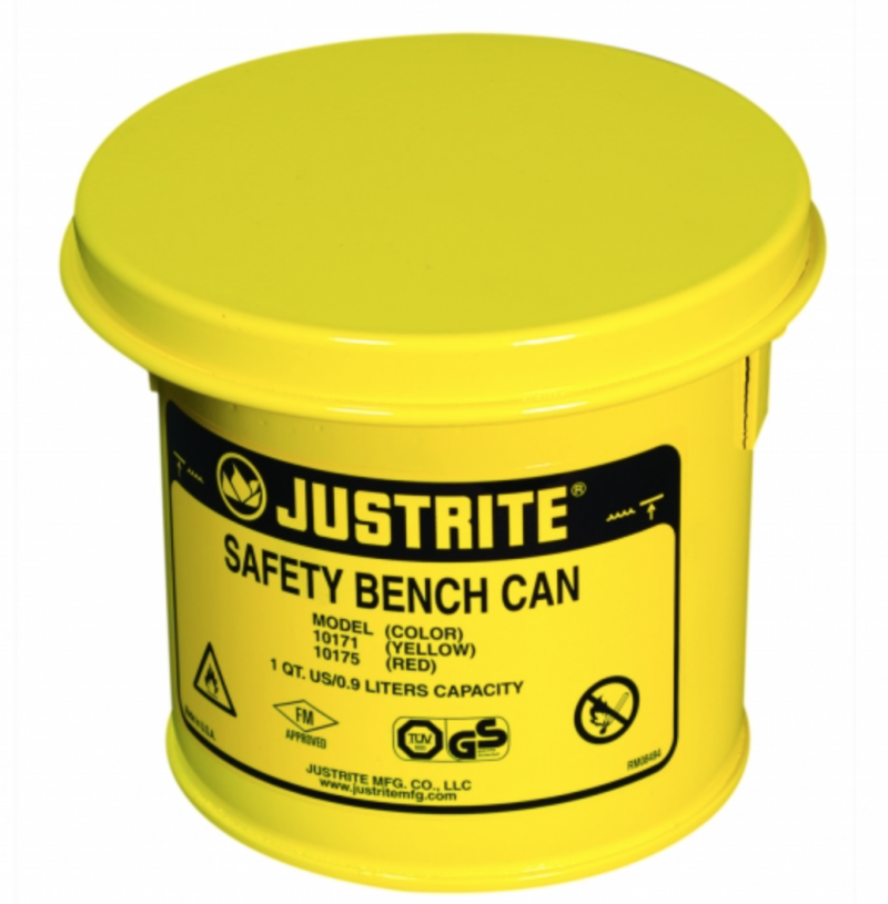 Safety Bench Cans